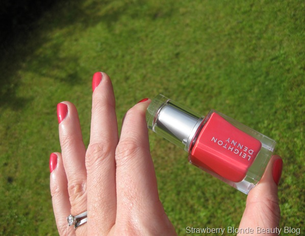 Leighton Denny Coral Reef swatch (2)