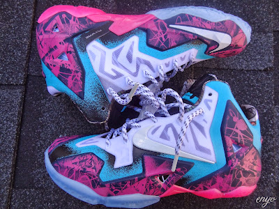 nike lebron 11 id production gumbo angel 1 07 Nike LeBron XI Gumbo iD Designed and Build by Angel