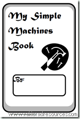 Free printable Simple Machines booklet