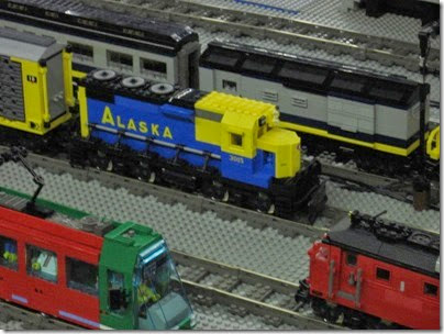 IMG_0247 Greater Portland Lego Railroaders Layout at the Great Train Expo in Portland, Oregon on February 16, 2008