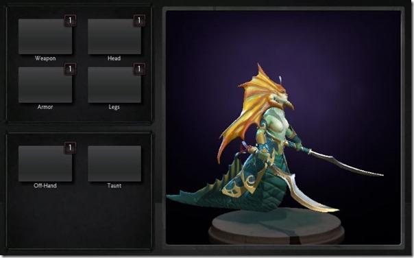 Naga Siren's default appearance
