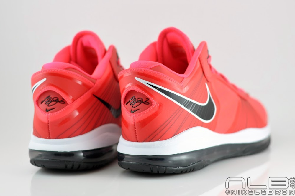 lebron 8 low red - photo #41