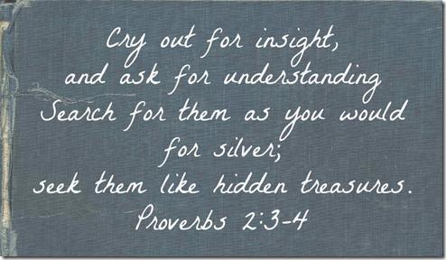 Proverbs 2 3-4