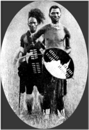 O rei Bambata, que chefiou uma rebelião em 1906 - um dos heróis que povoaram a infância de Mandela.