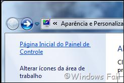 Windows Aero colore as janelas e dá efeitos de vidro e transparência