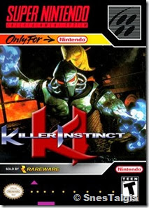 Killer Instinct - SNES Capa