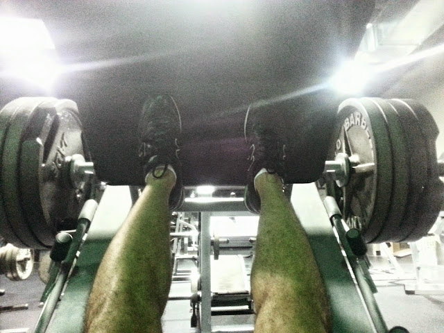 Leg presses