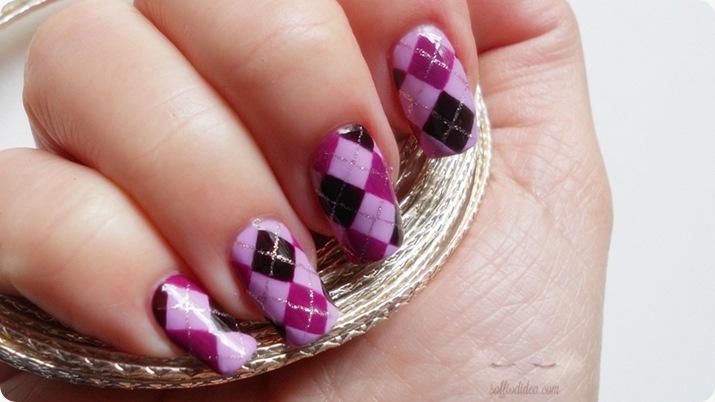 nailart-nail art-soffiodidea-soffio di dea-rombi-4a