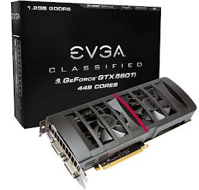 EVGA GTX 560 Ti 448 Cores FTW