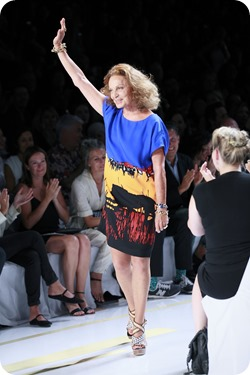 Ms. Diane Von Furstenberg Spring/Summer 2014 New York Fashion Week