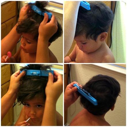 gio's haircut