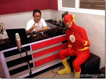 Flash and Stanley Chi