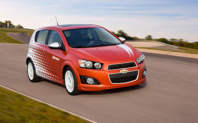 Chevy Sonic facebook campaign