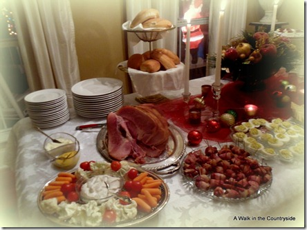 A Walk in the Countryside: Christmas Buffet