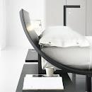letto in legno moderno