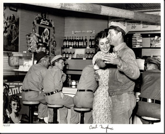 Dancing at Rosie's Cafe, Texas, 1937