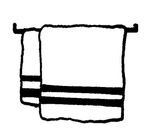 Dibujos de toallas para pintar - Imagui