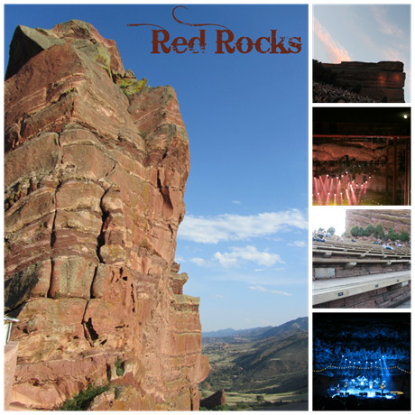 Red Rocks Collage
