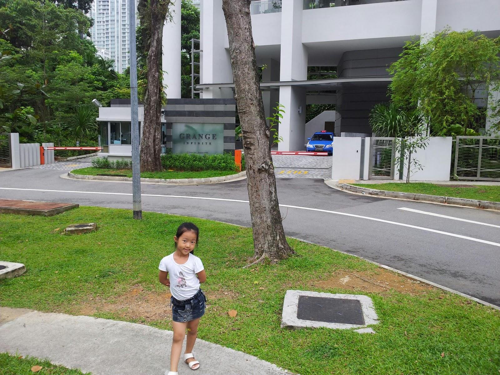 Real estates singapore grange infinite condo singapore - Appartement grange infinite showflat singapour ...