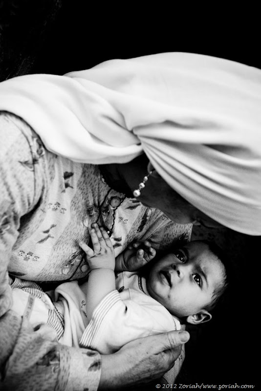 Gaza mother and child Zoriah
