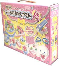 Deluxe Mousse-chan Kira-Kira Paper Clay Full Set ~ Sweets Shop