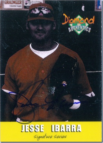 2000 Diamond Authentics Ibarra Auto 1429 of 3250