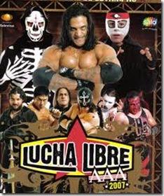 lucha libre AAA en vivo en Fiestas de Octubre
