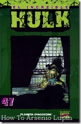 P00047 - Coleccionable Hulk #47 (de 50)