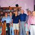 Reunião na casa do João Rodrigues Fernandes, em setembro de 1999. Da esquerda para a direita: Alfredo Salame, Bassalo, João Fernandes, Newton Barreira, Manoel Fernandes (Quinha) e Justiniano Alves.
