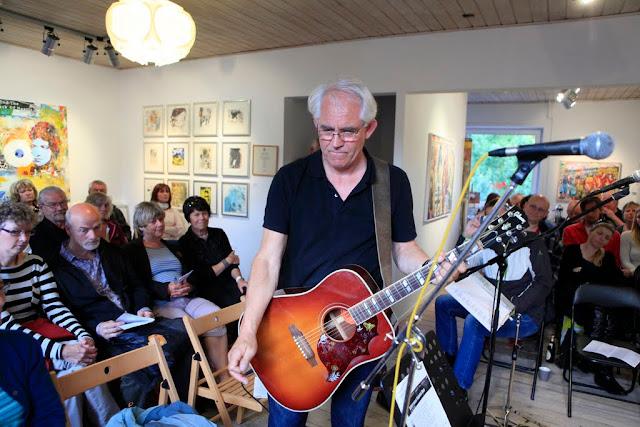 Johannes Andersen spiller til Bob Dylans 70 års fødselsdagskoncert - 2011