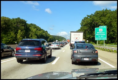 02b - I-90W Traffic Jam started at Exit 11 took 2 hours to go 5 miles
