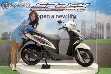 Honda Spacy PGMFI Injeksi 2012 : Sepeda Motor Injeksi Irit Harga Terbaik Cuma Honda