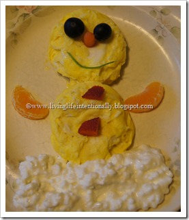Breakfast Snowmen Food Fun for Kids