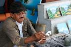 Travail artisanal sur les hauteurs de Ubud