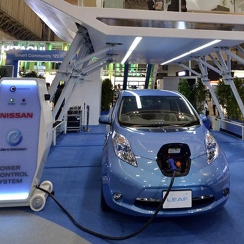 Cargador para coches eléctricos de Nissan que tardará 10 minutos