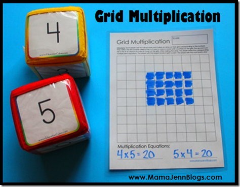 math worksheet : grid multiplication free printable math game : Multiplication Games Worksheet