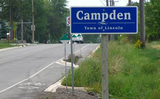 Campden Bike Lanes