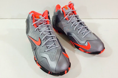 nike lebron 11 gs wolf grey camo 1 03 Kids Nike LeBron XI GS in Elite Team Collection Colorway