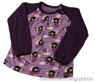 genser med lilla feer- ikke publ