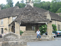 Village Square in Castle Combe