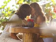 Ester se casa com Alberto - beijo