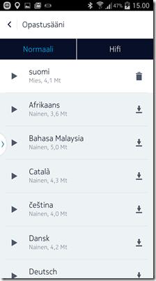 """Hi-Fi äänistä ei löydy vielä Suomea mutta """"normaali""""laadulla kieli löytyy"""