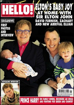 Elton John capa Hello