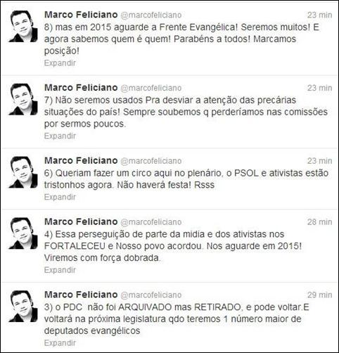 Feliciano reprodução twitter 02