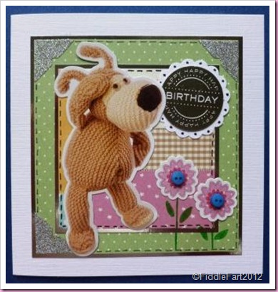 Docrafts Boofle cardstock Stickers