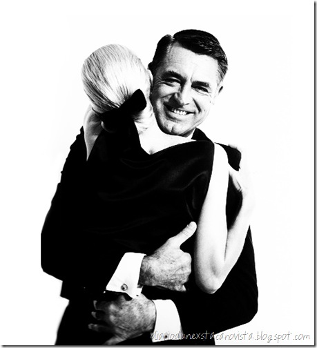cary grant & sunny harnett, new york, 1959  photo by richard avedon