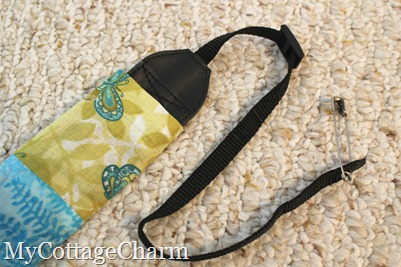 how to make a camera strap cover