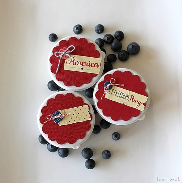 Easy Patriotic Berry Cups via homework11