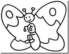 colorear mariposas pintaryjugar com (4)
