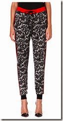 Markus Lupfer French Lace Print Tapered Trousers